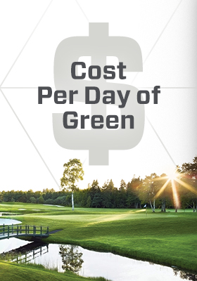 Cost Per Day of Green